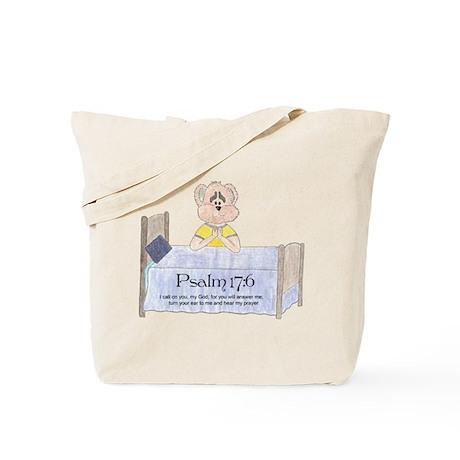 Bedtime Prayer Tote Bag