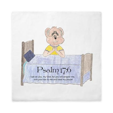 Bedtime Prayer Queen Duvet