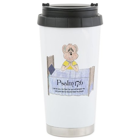 Bedtime Prayer Stainless Steel Travel Mug