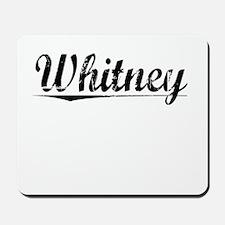 Whitney, Vintage Mousepad