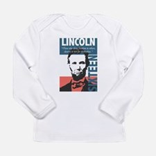 Abraham Lincoln 16th President Long Sleeve Infant