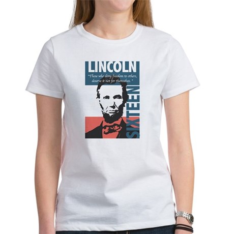 Abraham Lincoln 16th President Women's T-Shirt