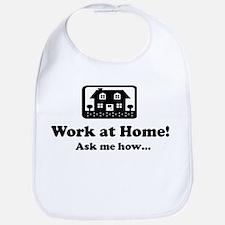 Work at Home Design Bib