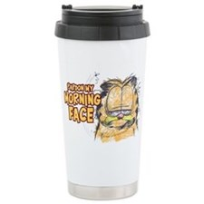 PARDON MY MORNING FACE Ceramic Travel Mug