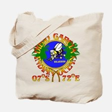 SEABEES of Diego Garcia Tote Bag