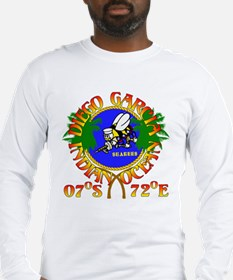 SEABEES of Diego Garcia Long Sleeve T-Shirt