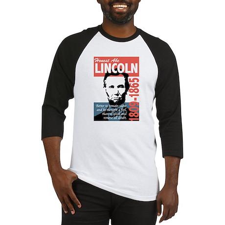 Honest Abe Lincoln President Baseball Jersey
