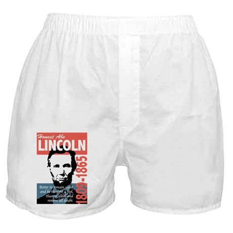 Honest Abe Lincoln President Boxer Shorts