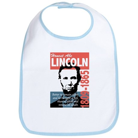 Honest Abe Lincoln President Bib