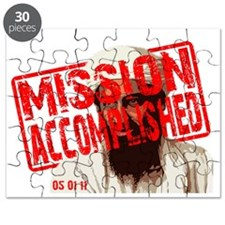 Mission Accomplished Obama 2012 Puzzle