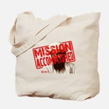 Mission Accomplished Obama 2012 Tote Bag