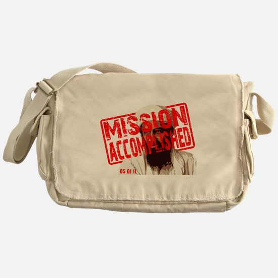Mission Accomplished Obama 2012 Messenger Bag