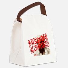 Mission Accomplished Obama 2012 Canvas Lunch Bag