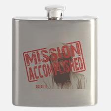 Mission Accomplished Obama 2012 Flask