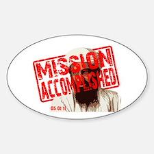 Mission Accomplished Obama 2012 Decal