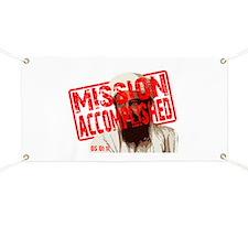 Mission Accomplished Obama 2012 Banner