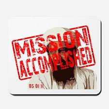 Mission Accomplished Obama 2012 Mousepad
