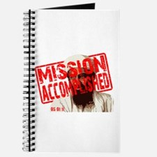 Mission Accomplished Obama 2012 Journal