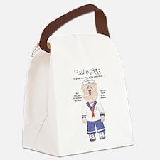 Jesus Safe Passage Canvas Lunch Bag