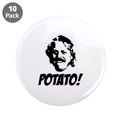 "potato 3.5"" Button (10 pack)"