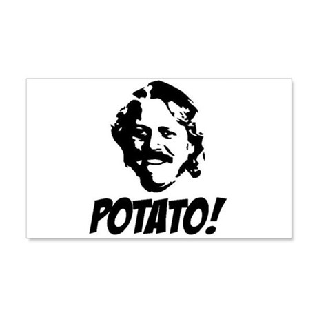 potato 20x12 Wall Decal