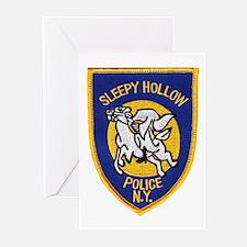Sleepy Hollow Police Greeting Cards (Pk of 10)