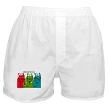 Retired Nurse Blanket CATS.PNG Boxer Shorts