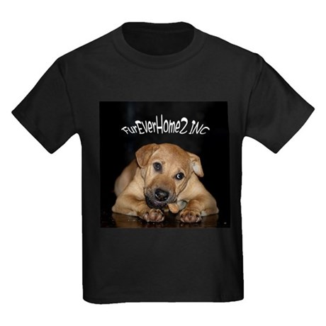 Happy Tails 2 Kids Dark T-Shirt