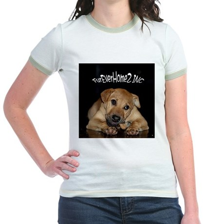 Happy Tails 2 Jr. Ringer T-Shirt