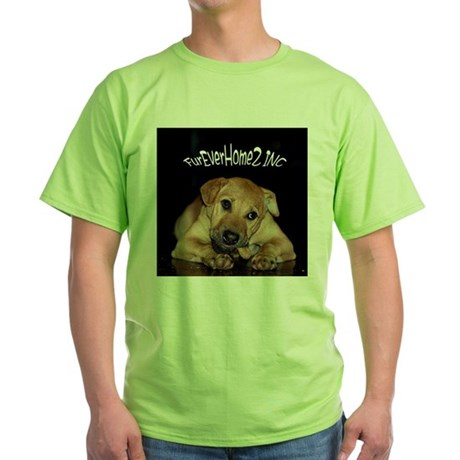 Happy Tails 2 Green T-Shirt