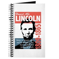 Honest Abe Lincoln President Journal