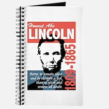 Honest Abe Lincoln President Journal