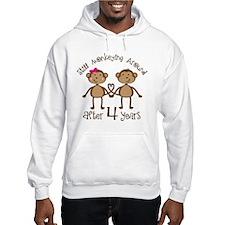 4th Anniversary Love Monkeys Hoodie