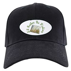 I'd Rather Be Fishing Baseball Hat