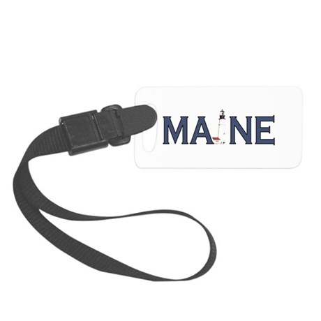 Maine Lighthouse Small Luggage Tag