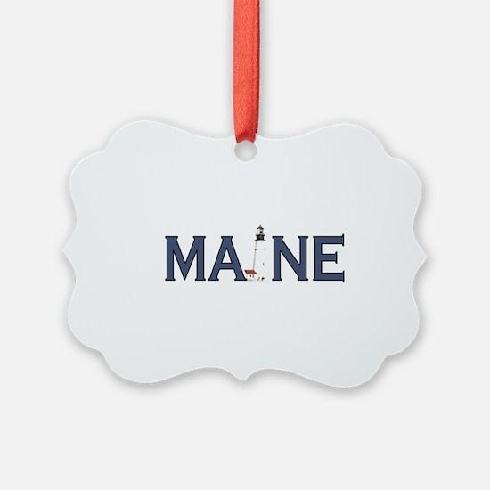 Maine Lighthouse Ornament