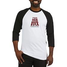 The Solid Rock Church Logo Baseball Jersey