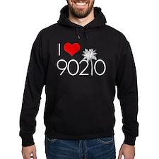 I Love 90210 Hoodie