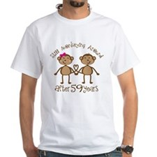 59th Anniversary Love Monkeys Shirt