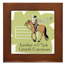 Growth Experience Framed Tile