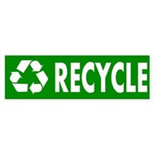 """Recycle"" Bumper Bumper Sticker"