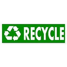 """Recycle"" Bumper Car Sticker"