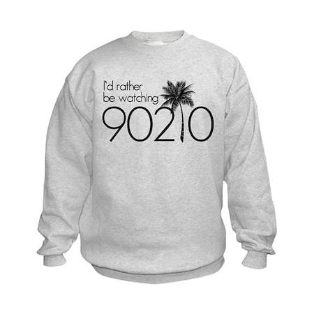 Id rather be watching 90210 Kids Sweatshirt