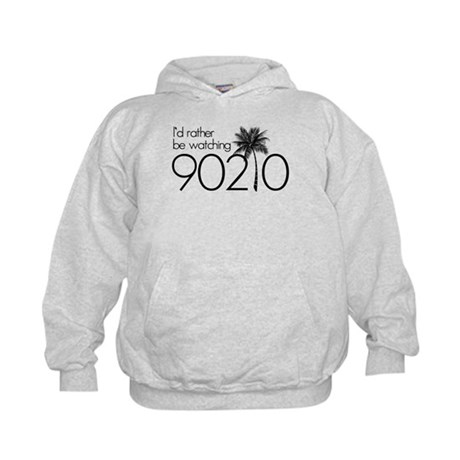 Id rather be watching 90210 Kids Hoodie