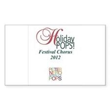 Holiday Pops Chorus 2012 Decal