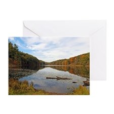 Lake Hope in the Fall Greeting Cards (Pk of 20)