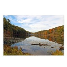 Lake Hope in the Fall Postcards (Package of 8)