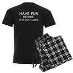 Have fun Men's Dark Pajamas