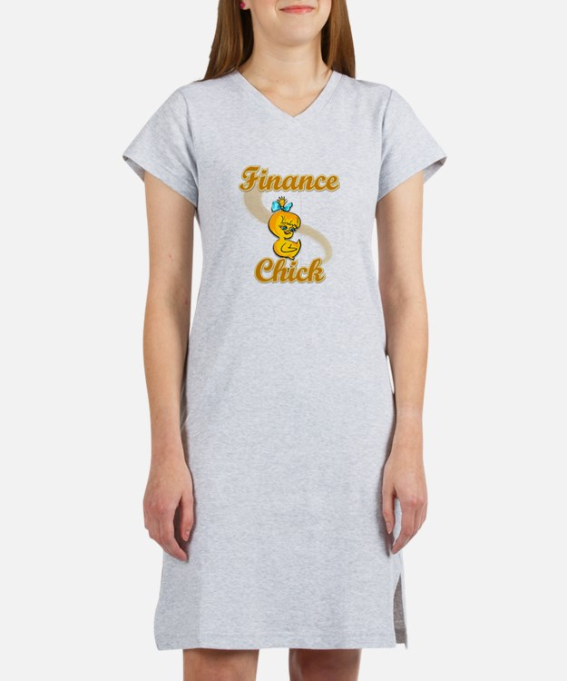Finance Chick #2 Women's Nightshirt