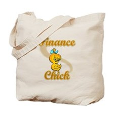 Finance Chick #2 Tote Bag
